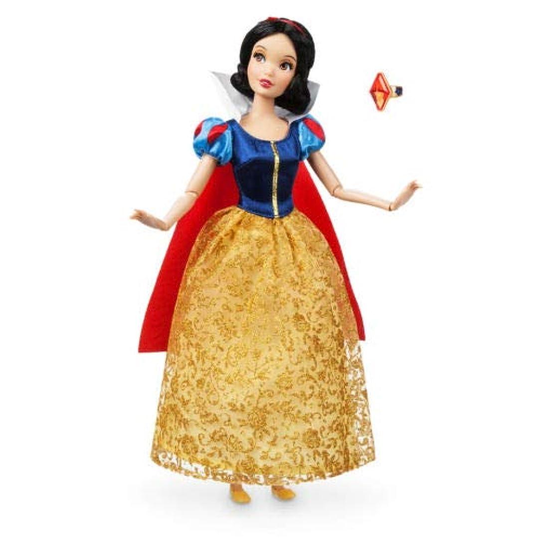コンピューターゲームをプレイする寮寄付するディズニー (Disney) Snow White 白雪姫 指輪付 人形 30cm [並行輸入品]