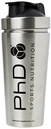 PhD Nutrition Stainless Steel Shaker, 739 ml