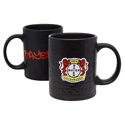 Bayer 04 Leverkusen - Werkself Kaffeetasse 320 ml - Motiv Mauer