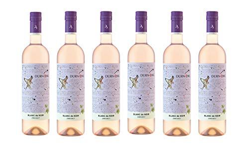 Dürnberg - Blanc de Noir 2019 - Qualitäts Weißwein aus Österreich, trocken - Unverwechselbarer Weißweintypus aus der roten Zweigelt Traube (6 x 0,75l)