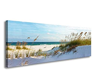 youkuart Canvas Wall Art sea Beach Stretched and Framed Ready to Hang, Canvas Art for Home Decoration xm014