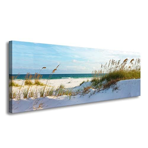 ea04db6a542 youkuart canvas Wall Art sea beach Stretched and Framed Ready to Hang