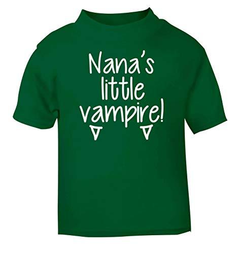 Flox Creative T-Shirt bébé Nana Little Vampire Noir Nouveau-né - Vert - 1-2 Ans