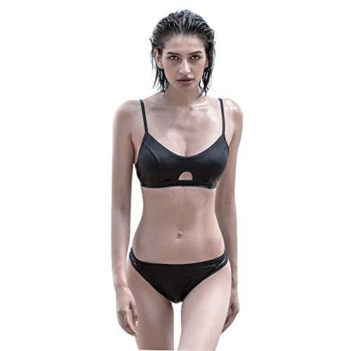 2 stuks Bikini's Zwempak Hollow Bedek met Triangle Bottoms zwemkleding