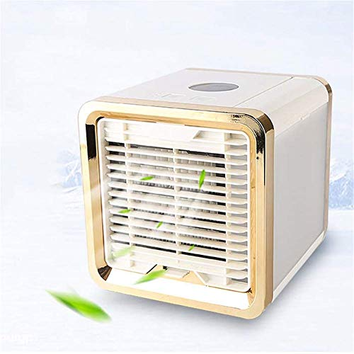 YO-TOKU USB Fans, Mini luchtkoelers, Portable Air Cooler Fan, 3 snelheid instelbaar USB airconditioners for Office Thuis Outdoor Travel USB Gadgets