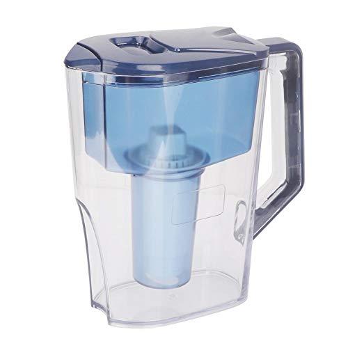 VIFER Portable Alkaline Water Pitcher Water Filter Purifier Filtration Jug Kettle 2.5L 3 Stage