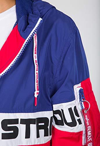 Alpha Industries Color Block Windbreaker Damen Jacke M