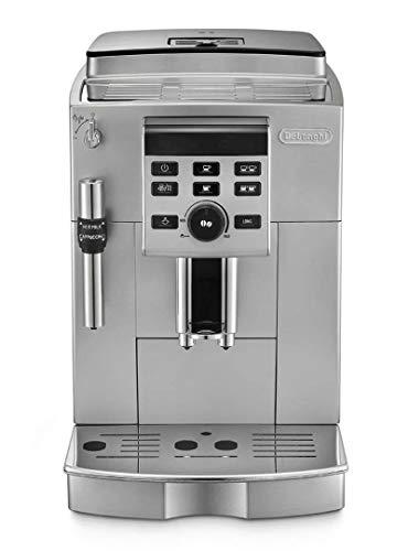 De'Longhi ECAM 23.120.SB espressomachine, vrijstaand, halfautomatisch, 1450 W, 1,8 l, roestvrij staal, 10 dB, zwart/zilver