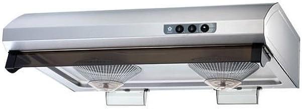 "Sakura 30"" Hairline Stainless Steel Under Cabinet Range Hood R747-II-30HS"