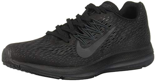 Nike Women's Air Zoom Winflo 5 Running Shoe, Black/Anthracite, 8