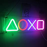 Icon Lights Playstation Icons Light Playstation Neon Sign with USB/Switch Decor Lamp Acrylic Atmosph...