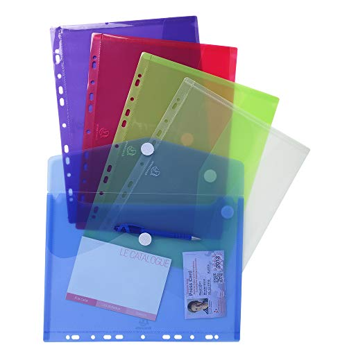 Exacompta PP Envelope Punched Po...