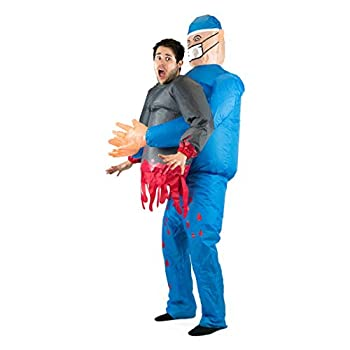 Scary Doctor/Surgeon Inflatable Costume for Adults  One Size