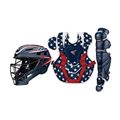 Package length: 28.702 cm Package width: 46.482 cm Package height: 64.008 cm Product Type: SPORTING GOODS Included components: Helmet, Chest Protector, and 2 Leg Guards