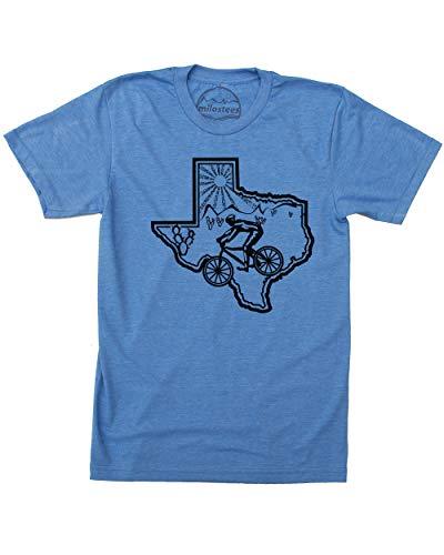 Mountain Bike Texas Shirt | Original Graphic on Soft 50/50 Wears | Ride Palo Duro Canyon