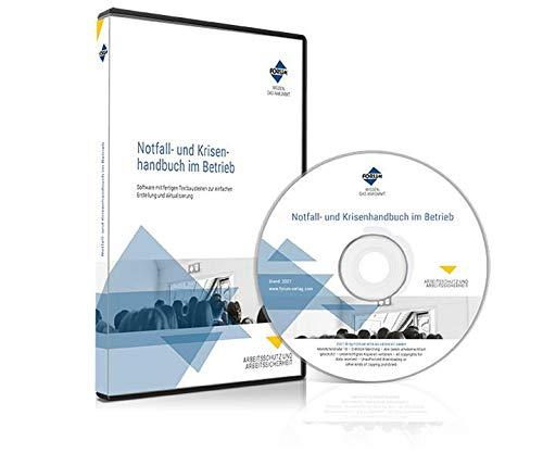 Notfall- und Krisenhandbuch im Betrieb: Software mit fertigen Textbausteinen zur Erstellung und Aktualisierung