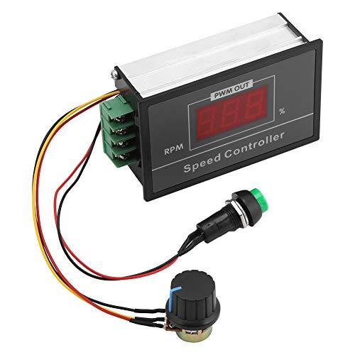 Controller Adjustable Regulator Generator PWM DC 6-60V 12V 24V 36V 48V 30A PMW Motor Speed Controller