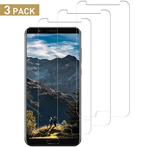 SNUNGPHIR Protector de Pantalla para Huawei Honor View 10, 3 Pack Vidrio Templado [9H Dureza] HD Transparente Resistente Arañazos [No Burbujas] Film Cristal Templado para Honor View 10