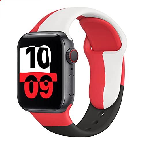 Correa para Apple Watch Band Black Unity 38mm 42mm para Iwatch Accesorios Watch Sport4 56 40mm 44mm Pulsera Correa de reloj-NUEVO COLO-5,42 o 44mm