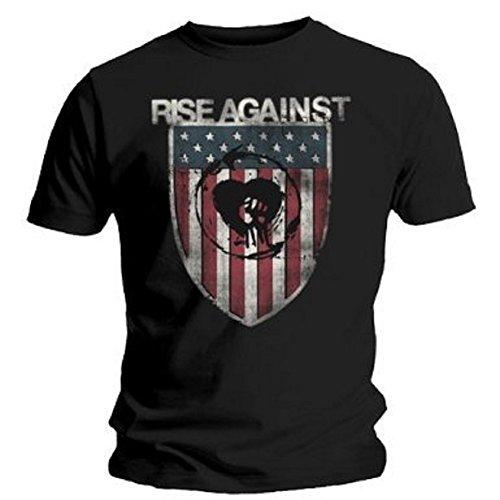 Rise Against T-Shirt Shield in Größe XL