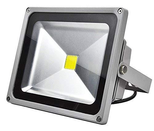 30W LED Fluter Strahler Außenstrahler 230V IP65 Wasserdicht Außen Scheinwerfer Warmweiß warmweiss Außenbeleuchtung für Garten,Garage,Sportplatz,Hotel usw.