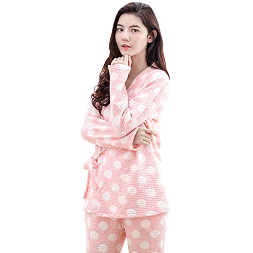 coton robe de nuit 2056 U Mija 2 en 1 Maternit/é allaitement