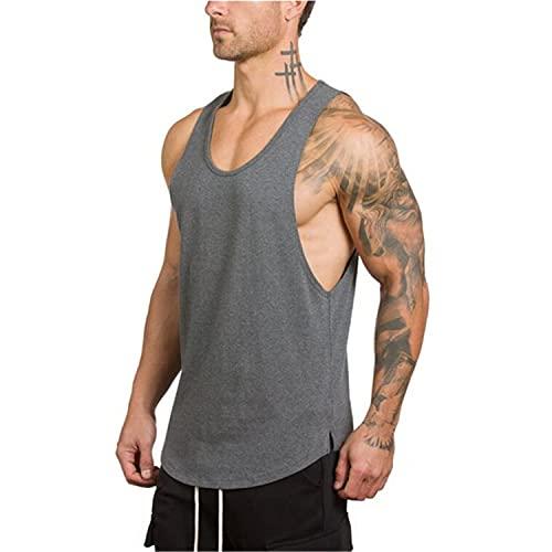 Cabeen Camiseta de Tirantes Hombre Sin Mangas Deportivas Entrenamiento de Fitness Gimnasio
