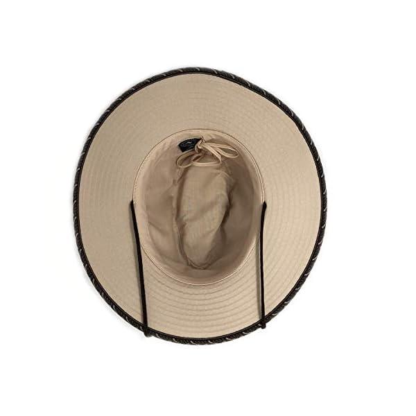 Wallaroo Hat Company Men's Cabo Fedora – UPF 50+, Classic Surf Hat, Designed in Australia