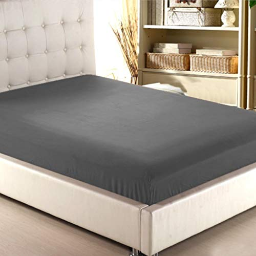 NHhuai Protector de colchón, algodón, poliéster, Funda de colchón Simple de una Pieza