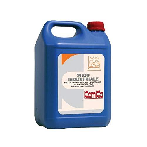 Kemika - Sirio industrial 5 kg Abrillantador para máquinas lavavajillas