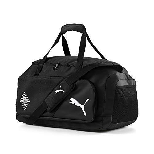 PUMA Unisex - volwassenen BMG LIGA Medium Bag sporttas, Black White, UA