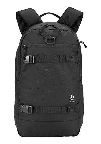 NIXON Ransack Backpack - Black - Made with REPREVE Our Ocean and REPREVE recycled plastics.