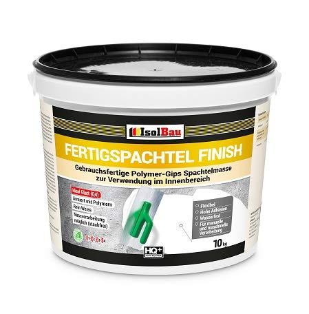 Spachtel masse Q4 Fertigspachtel Finish 10 kg Glätt Flächen Füll Fugenspachtel
