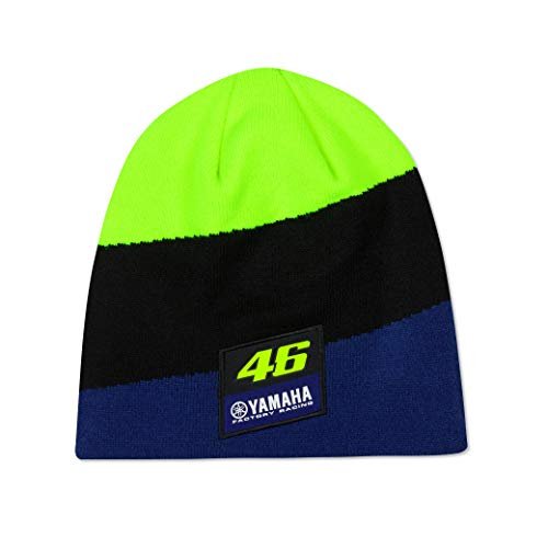 Valentino Rossi Yamaha Dual, Beanie Homme, Royal Blue, Unique