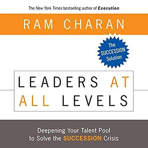 Leaders at All Levels: Deepening Your Talent Pool to Solve the Succession Crisis audiobook cover art