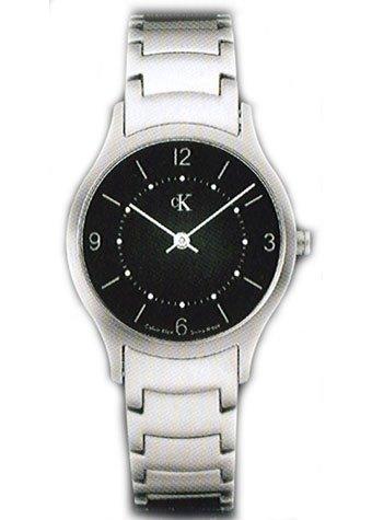 Reloj Calvin Klein para Mujer Esfera Negro Correa de Acero
