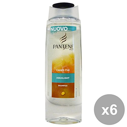 Set 6 PANTENE Shampoo 1-1 AQUALIGHT 250 Ml. Prodotti per capelli
