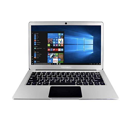 Thomson NEOX13C4BK32 / NEOX13C-4BK32 / NEOX13C-4BK32 Neo X13 Ultrabook 13.3 Celeron N3350, 4 GB, 32 GB, Windows 10, Plateado, 13-13.99...