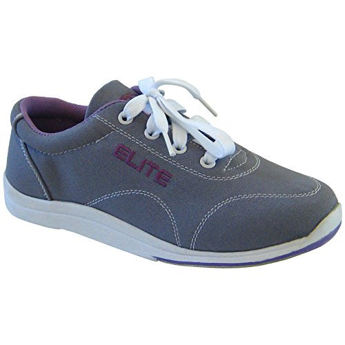 Elite Casual Bowling Shoes - Womens 10 Grey