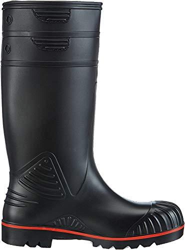 Dunlop Protective Footwear Acifort Heavy Duty full safety Unisex-Erwachsene Gummistiefel, Schwarz, 40