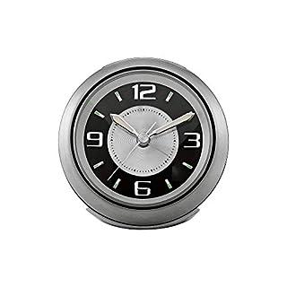 "Bulova Light Night Brushed Silver 3 3/4"" W Alarm Clock (B01IU7CTXK) | Amazon price tracker / tracking, Amazon price history charts, Amazon price watches, Amazon price drop alerts"
