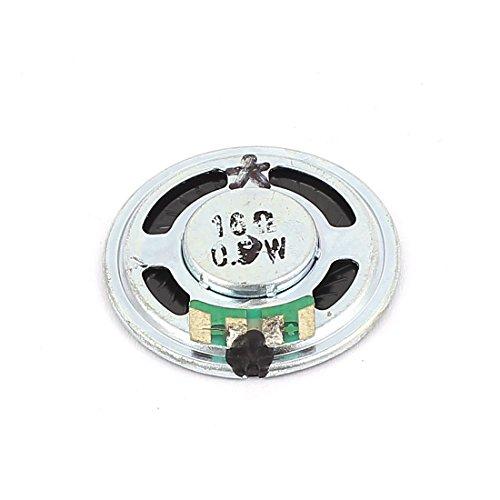 sourcingmap 36 millimetri Dia 16 Ohm 0.5W alluminio gusciol interno magnete per dell'altoparlante corno altoparlante