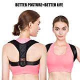 PAVITR SHOP Adjustable Upper Back Posture Corrector and Clavicle Support Brace for Pain