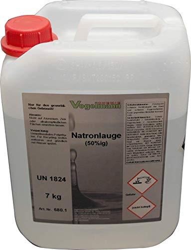 Vogelmann Chemie GmbH 7 kg Natronlauge 50%
