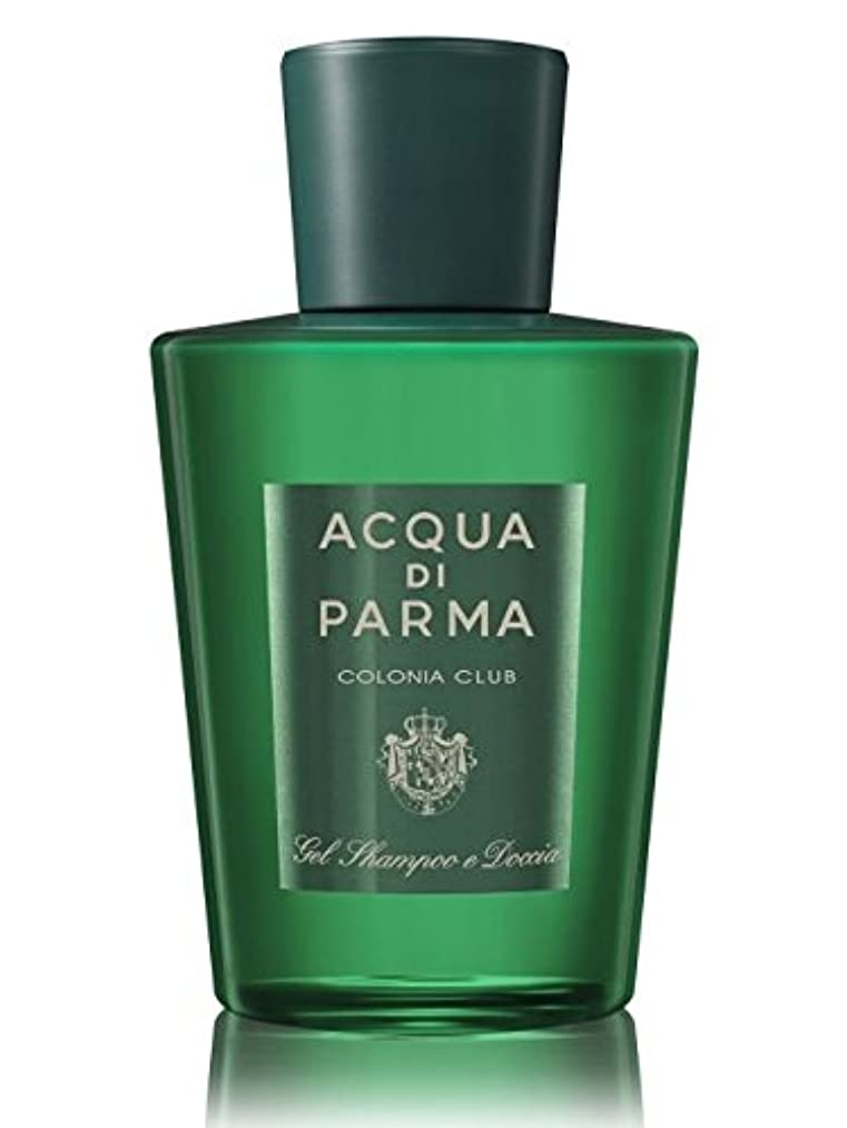心理学共感するスイAcqua di Parma Colonia Club (アクア ディ パルマ コロニア クラブ) 6.7 oz (200ml) Hair & Shower Gel