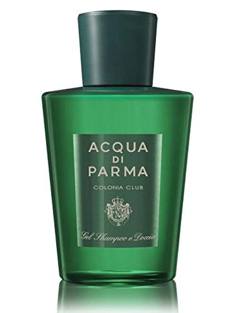 毎月シネマ文房具Acqua di Parma Colonia Club (アクア ディ パルマ コロニア クラブ) 6.7 oz (200ml) Hair & Shower Gel