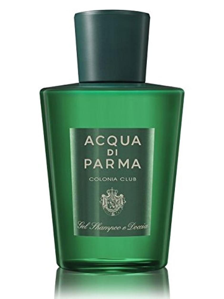 志す思い出させるフォアマンAcqua di Parma Colonia Club (アクア ディ パルマ コロニア クラブ) 6.7 oz (200ml) Hair & Shower Gel