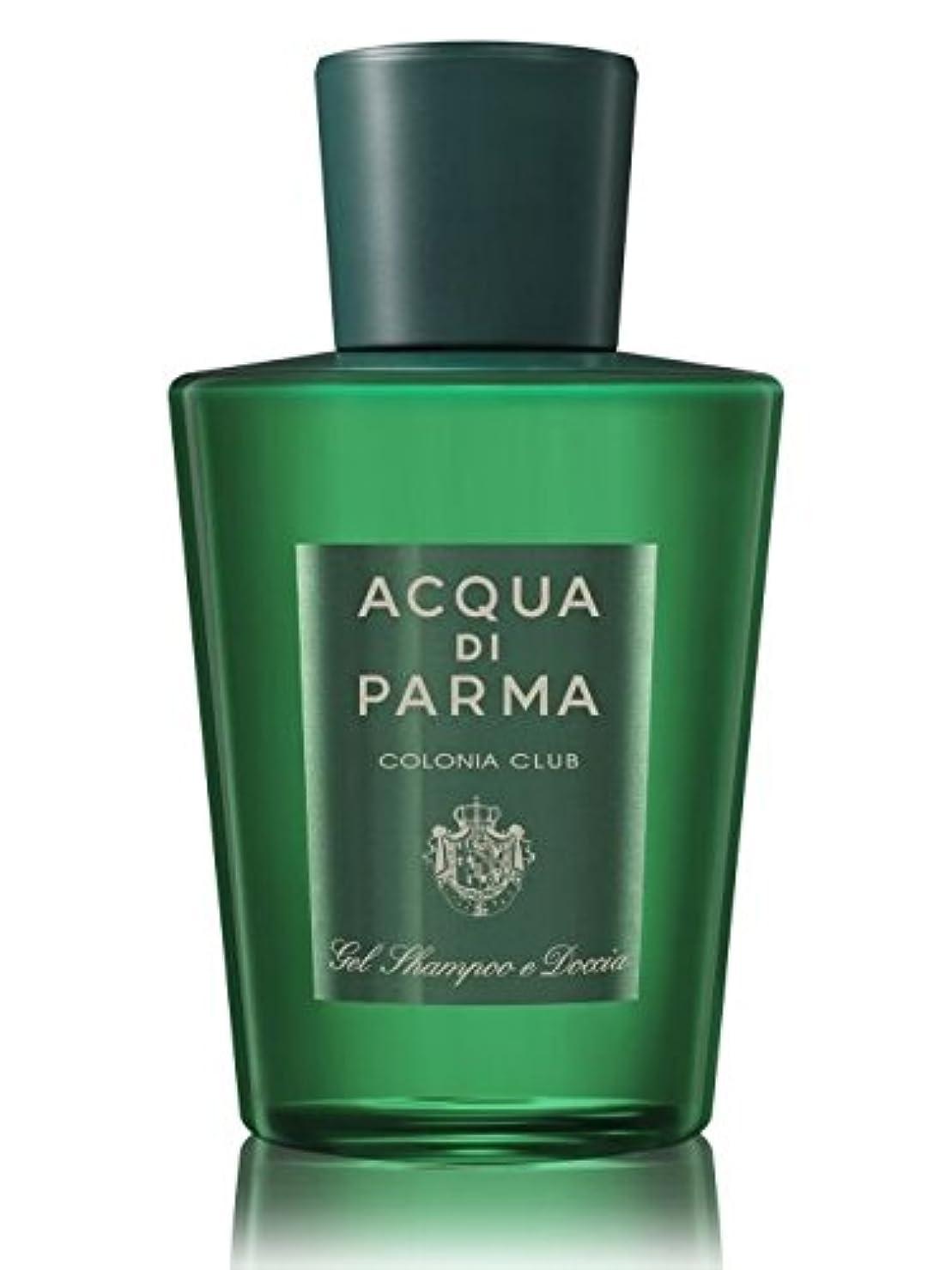 不調和埋める動力学Acqua di Parma Colonia Club (アクア ディ パルマ コロニア クラブ) 6.7 oz (200ml) Hair & Shower Gel