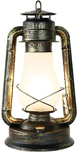 Lluminación de pared Dormitorio sala de tabla de la oficina de estudio de lectura cómodo escritorio Distribución Medio Ambiente luz suave de vidrio de alta transmisión de hierro forjado + luz de la pa