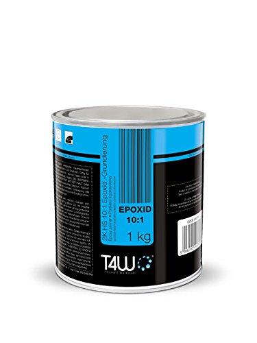 T4W Epoxidfüller Epoxy Füller Rostschutz Grundierung 10:1-1,0 kg + Härter 0,1 kg (59070)